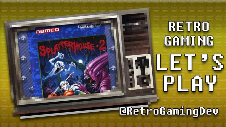 Splatterhouse 2 for the Sega Genesis