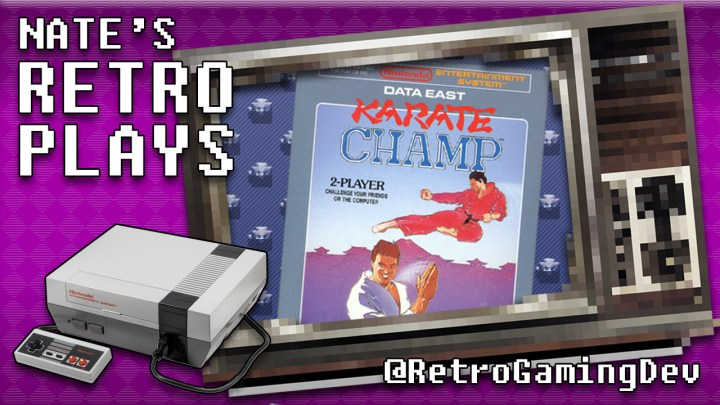 Karate Champ on the NES