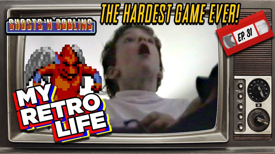 A Ghosts 'n Goblins Story | The Hardest Game I Ever Played – by My Retro Life