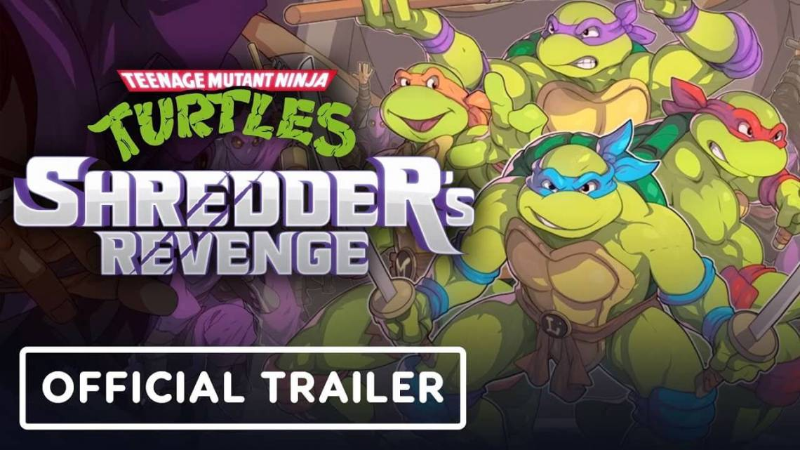 Teenage Mutant Ninja Turtles: Shredder's Revenge – Official Reveal Trailer
