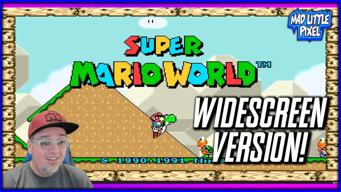 How to Play Super Mario World in Widescreen