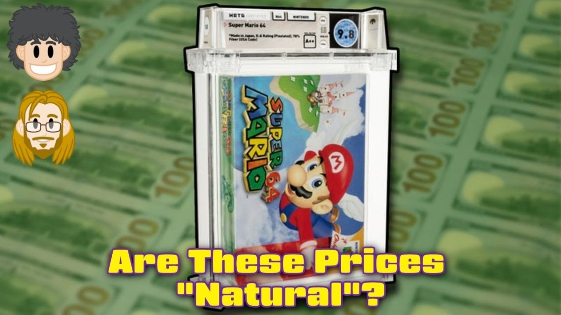 Graded Game Prices – Natural or Inflated?