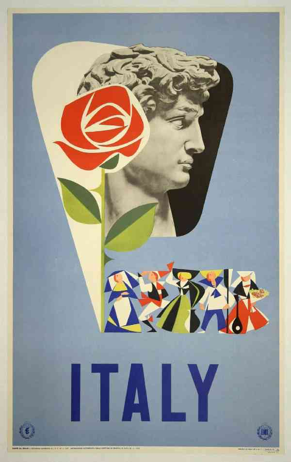 Free Vintage Travel Posters Italy