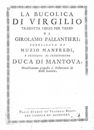 Breve annotazione sul paesaggio bucolico nellopera di Virgilio  RETROGUARDIA 20 Il testo