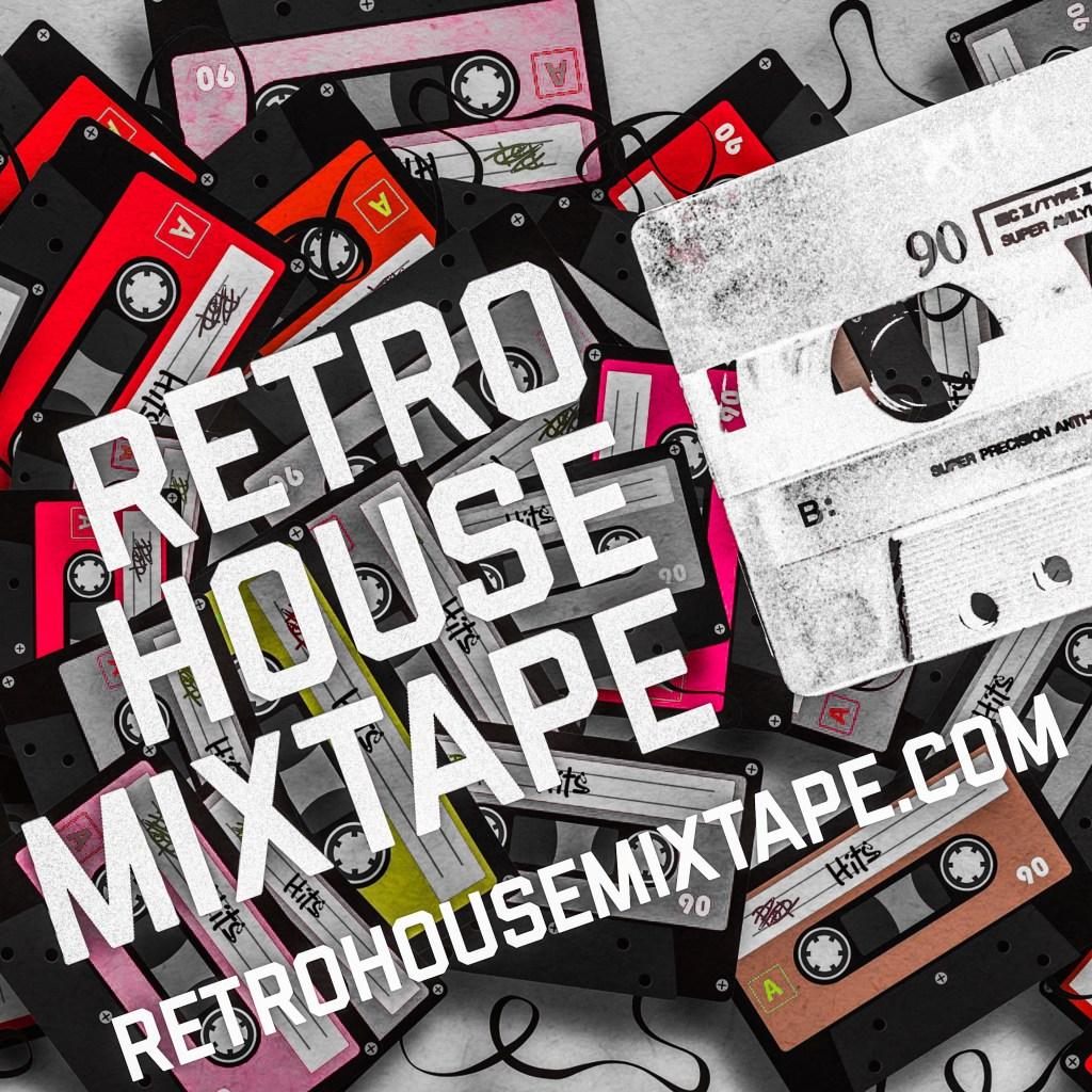 Retro House Mixtape Logo