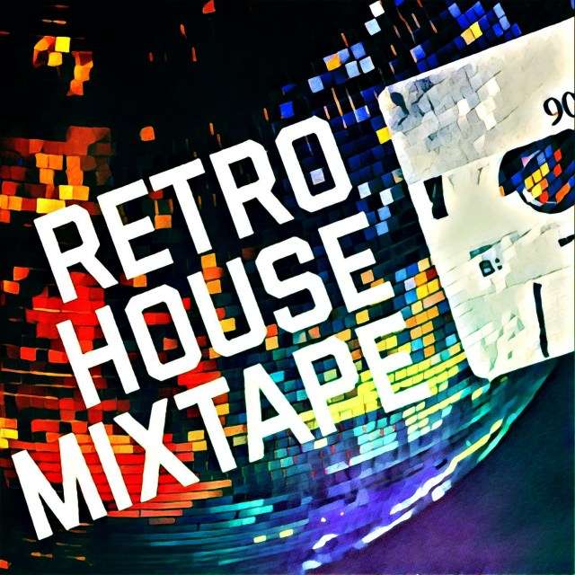 Retro House Mixtape - Mirro Ball Logo
