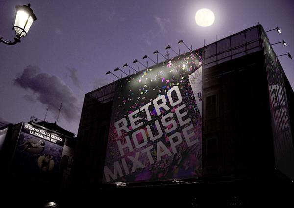 Retro House Mixtape Billboard