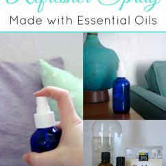 Natural Sofa Deodorizer Armless Sleeper Fabric Refresher Spray Retro Housewife Goes Green Photos Of In A Blue Bottle