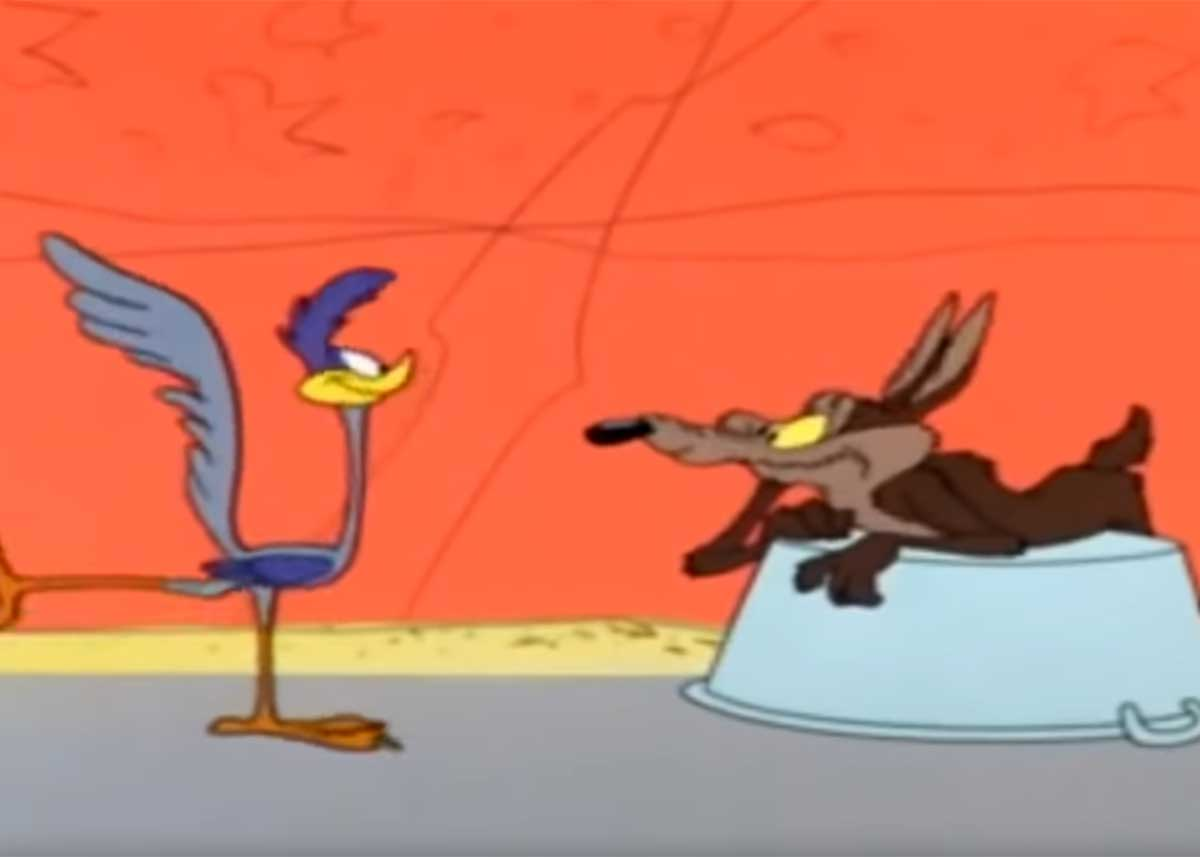 Does Wile E. Coyote Ever Catch the Roadrunner?