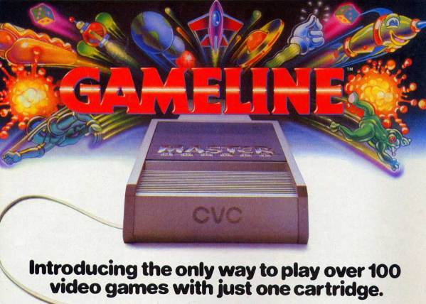 In the 1980s You Could Download Games for your Atari 2600 from GameLine