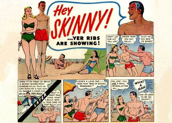Hey Skinny! Yer ribs are showing! or The Retroist Goes to the Beach