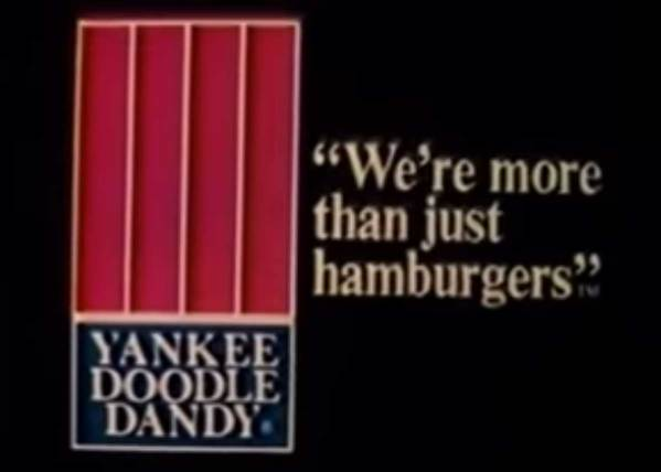Yankee Doodle Dandy – They Were More Than Just Hamburgers