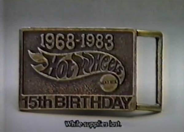 Every Kid Wanted this Hot Wheels Belt Buckle back in 1983