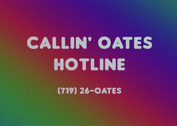 Need a Pick Me Up?  Call the Hall and Oates Hotline