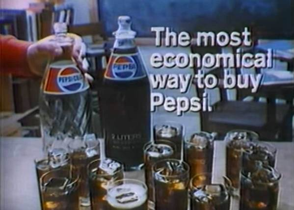 When did you start buying Soda Pop in 2-Liter Bottles?
