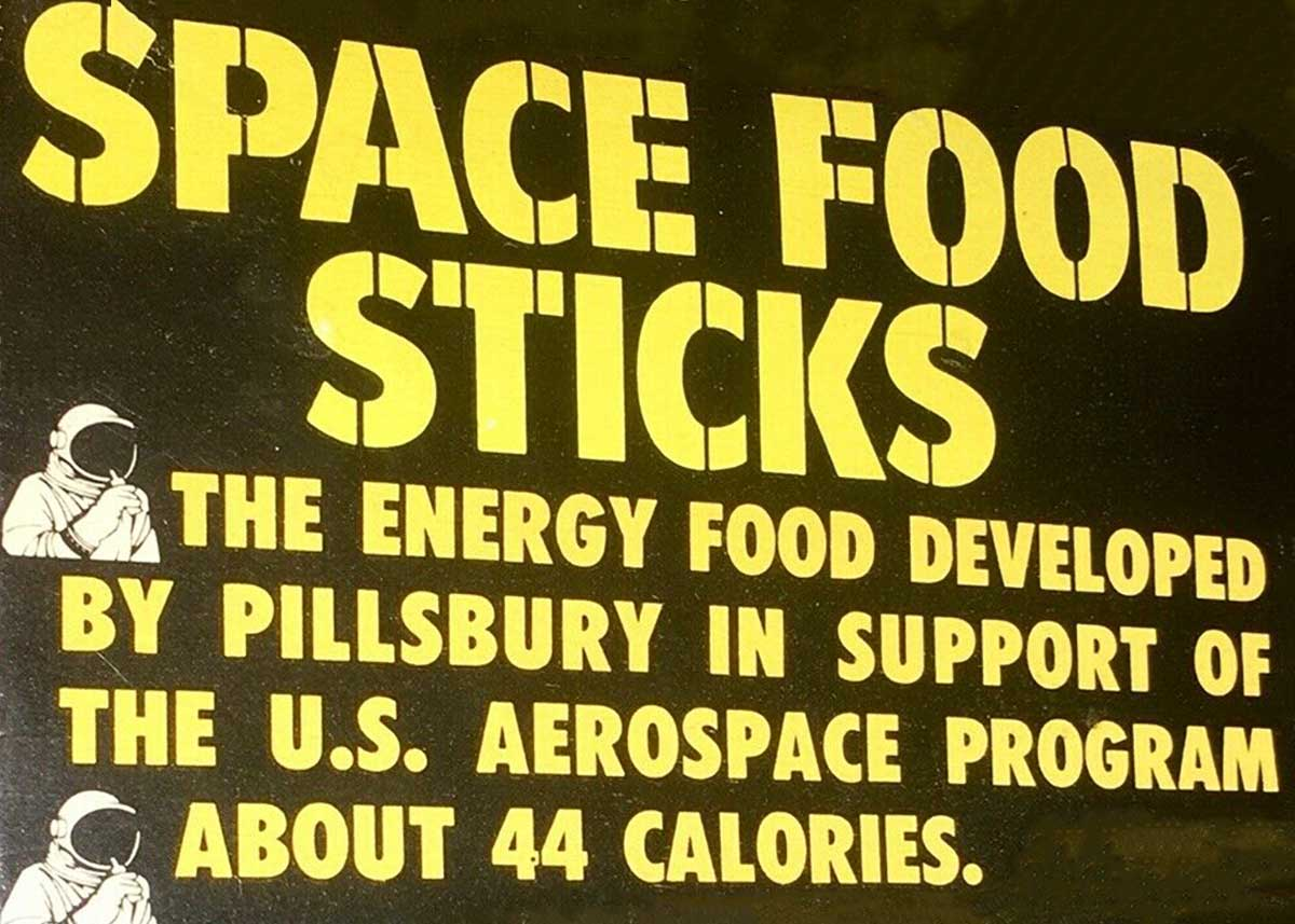 Pillsbury Space Food Sticks