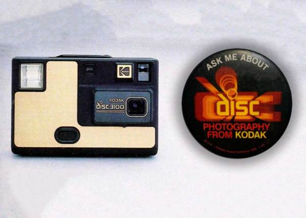 The rise and fall of the Kodak Disc Camera