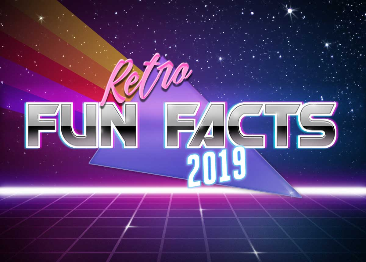 52 Fun Retro Facts I learned in 2019