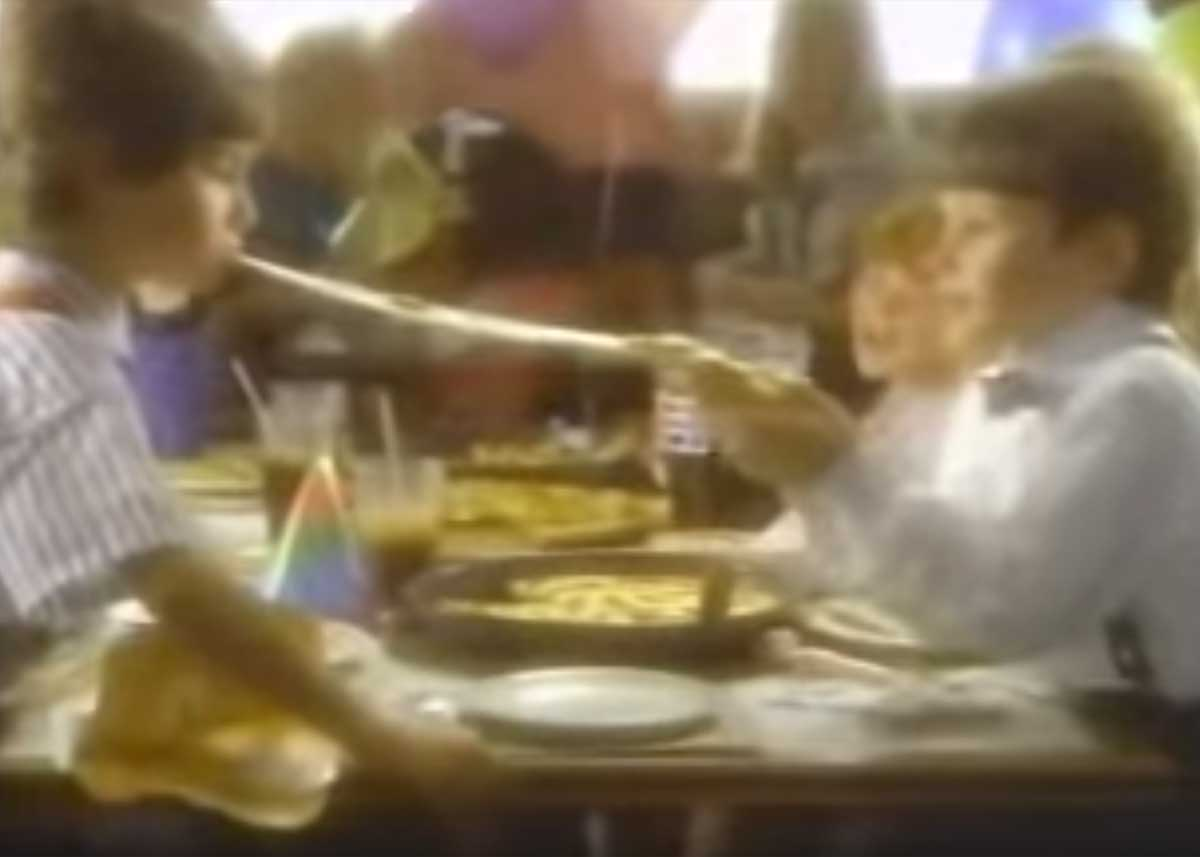 The Land Before Time VHS Pizza Hut Commercial