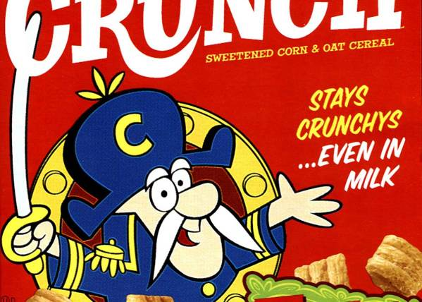 Cap'N Crunch Now with Old and Improved Packaging