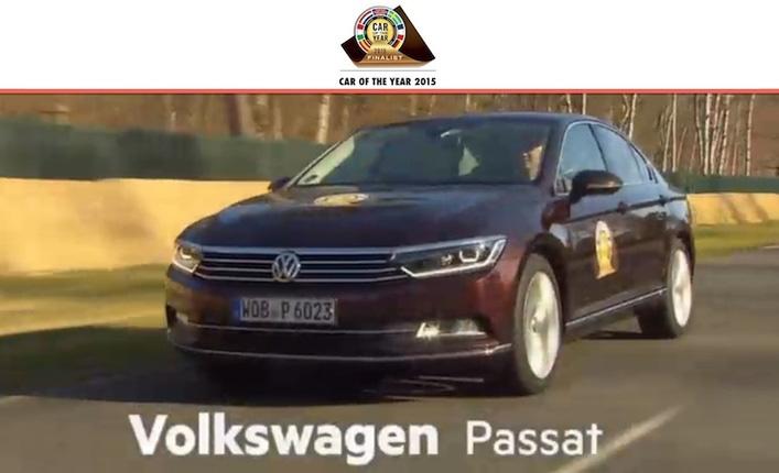 Volkswagen Passat ; la voiturede l'année 2015