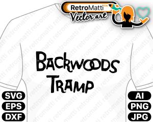 retromatti w part backwoods tramp