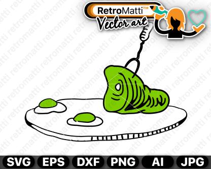 retromatti w part ham and green eggs