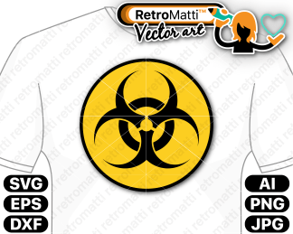 retromatti w part biohazard symbol