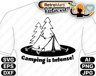 retromatti w part camping is intense