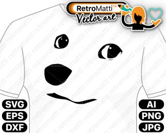 retromatti w part doge face