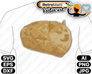 retromatti w part doge loaf