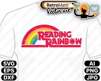 retromatti w part reading rainbow