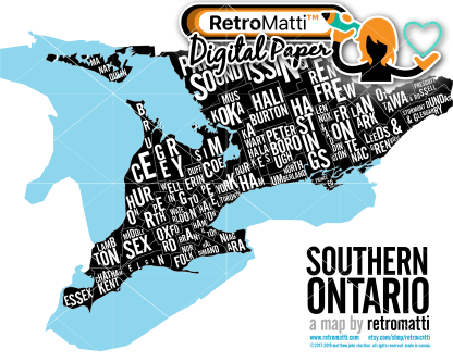 retromatti w part southern ontario type black
