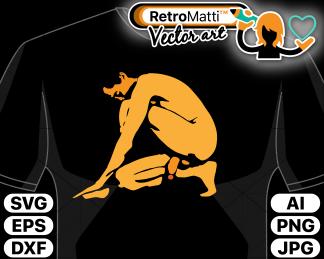 retromatti w part the beautiful male nude
