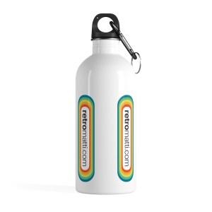 Retromatti.com Stainless Steel Water Bottle