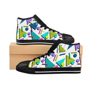 &#;sMemphisNeonTrafficHigh topSneakers