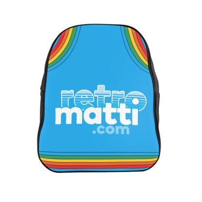 Retromatti.com Rainbow School Backpack