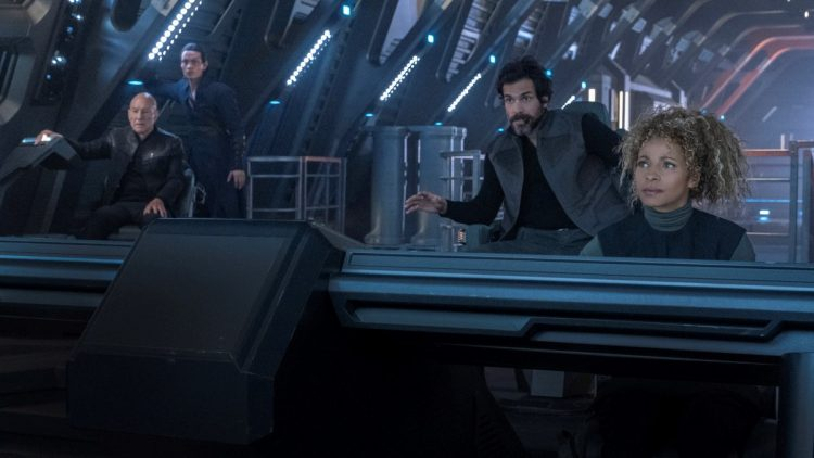 Star Trek Picard bridge shot