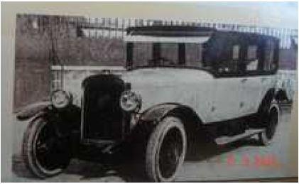Conduite intérieure 15PH 1922