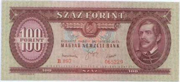 Száz forintos bankjegy: 50 évig a csúcson!