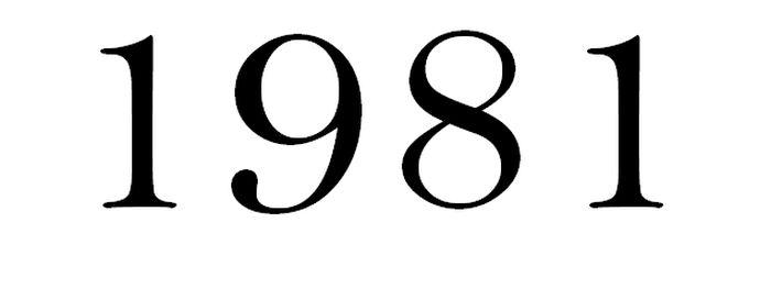 TOP 10 sláger 1981-ból