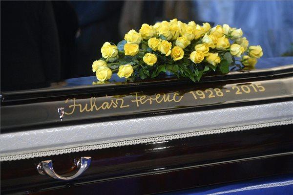 Juhász Ferenc búcsúztatása