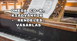 Omega CD-k, kiadványok - rendelés, vásárlás