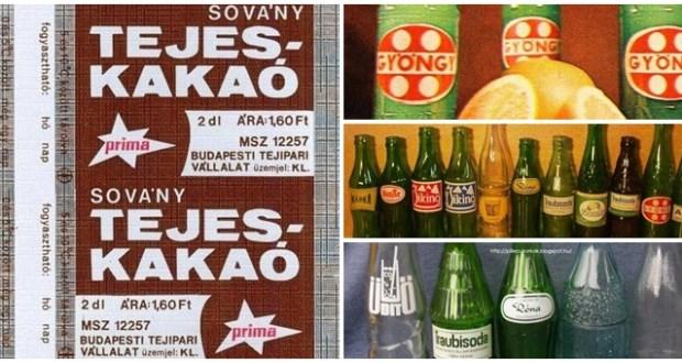 15 retro ital, ami közt tuti van kedvenced