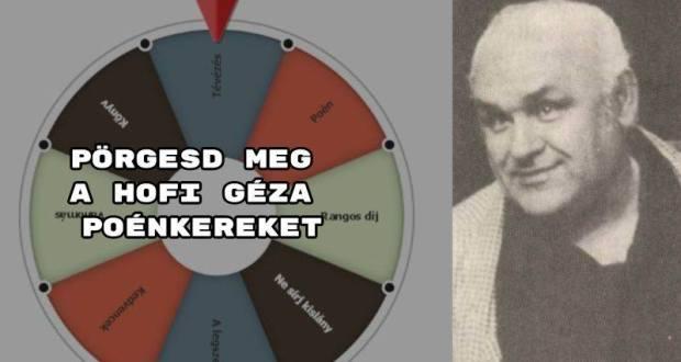 Ezúttal Hofi Géza előadásai közül válogattunk.