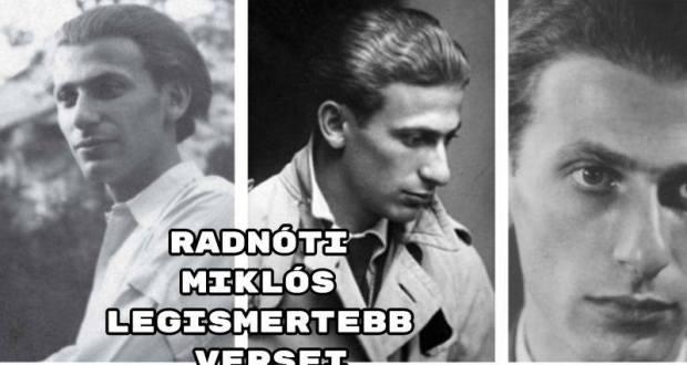 Jöjjön Radnóti Miklós legismertebb versei összeállításunk.