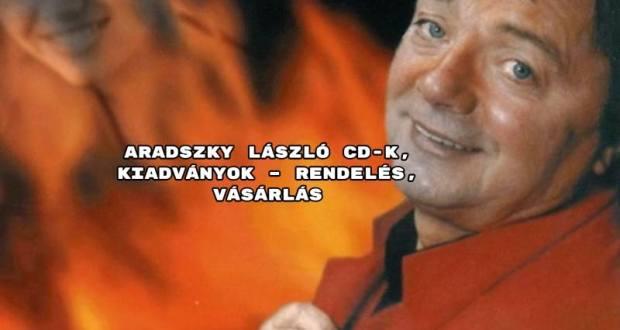 Aradszky László CD-k, kiadványok – rendelés, vásárlás