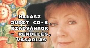 Halász Judit CD-k, kiadványok – rendelés, vásárlás