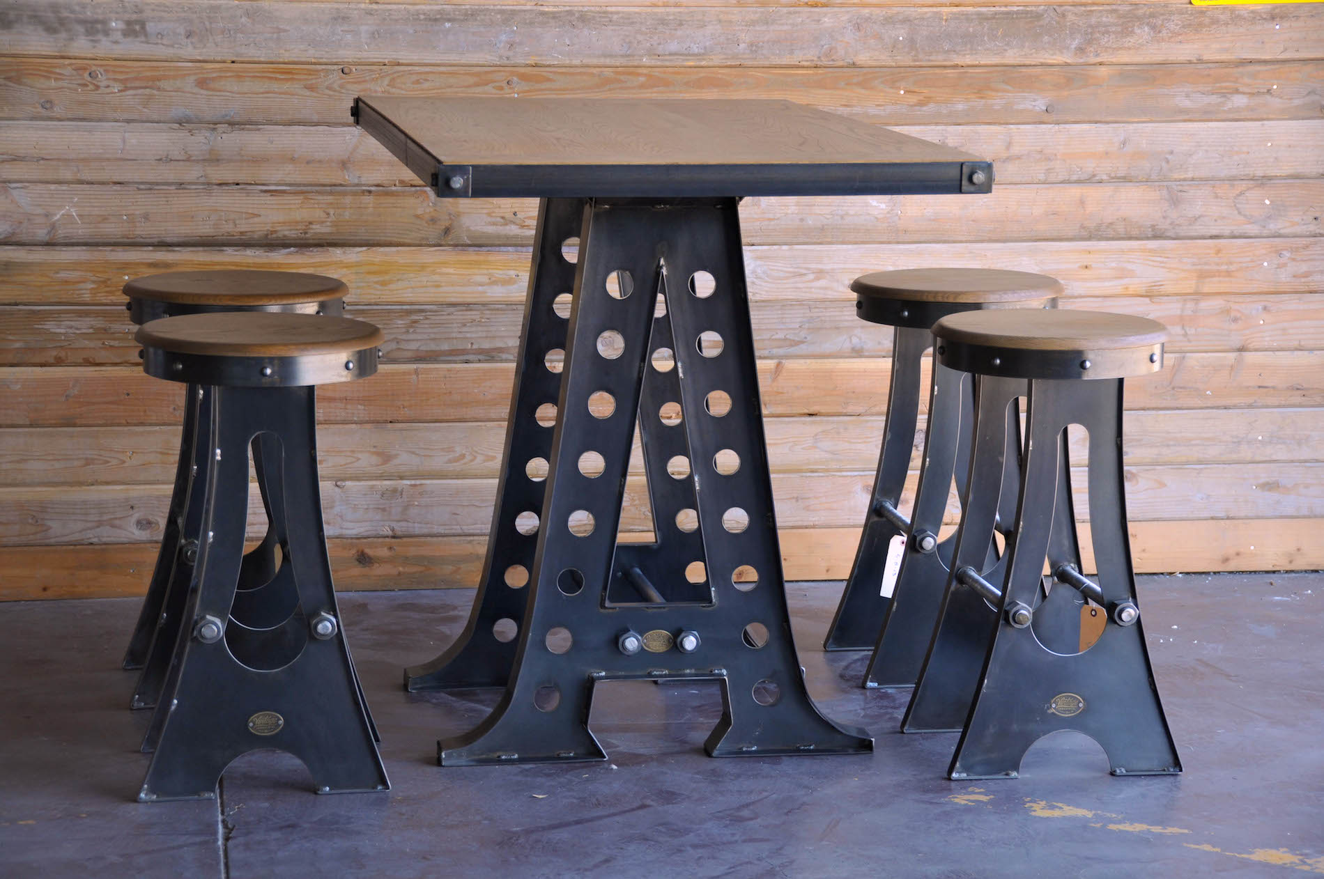 Restaurant Chairs And Tables A Frame Dining Table Vintage Industrial Furniture
