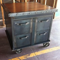 Ellis Filing Cabinet  Vintage Industrial Furniture